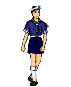 L'uniforme de la Troupe