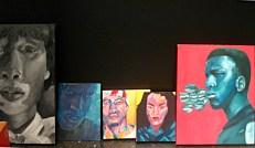 Paintings by Ruba Osman