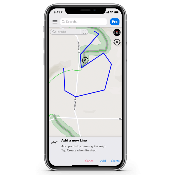 Add Points TroutRoutes Pro Annual Subscription