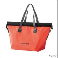 シマノ:防水加工生地、防水テープを使用したバッグ『BA-058R レインストームトート』『BS-041R レインストームポーチ』が発売されます