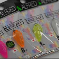 アルフレッド:樹脂製トラウト用スプーン『サーフェイスクリアアルフ』に0.8gモデルが追加されます