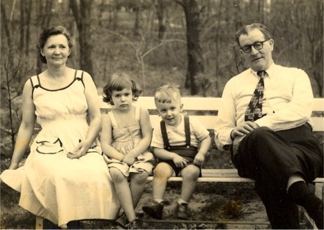 Nana, Cookie, Johnny and Grandpa