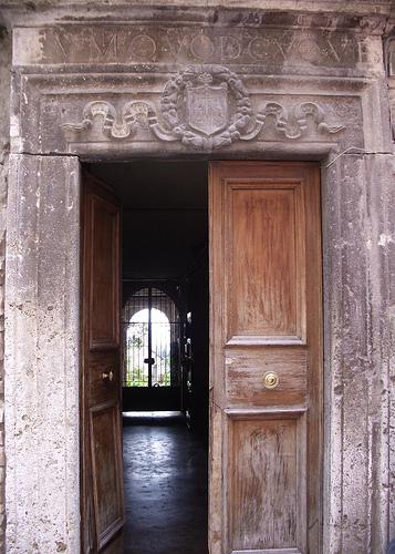 Austin Italy open door