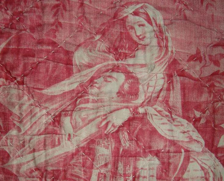 Old toile 1860
