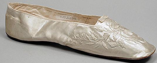 shoe 1840 vienna lacma
