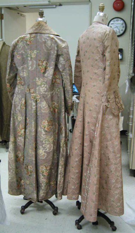 Dressing gowns French 1820-1830 silk MET