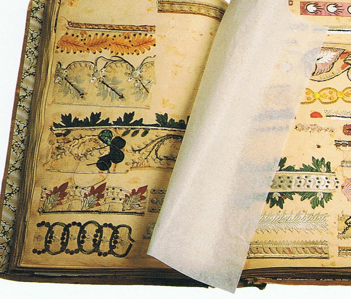 Sample books Silk 4