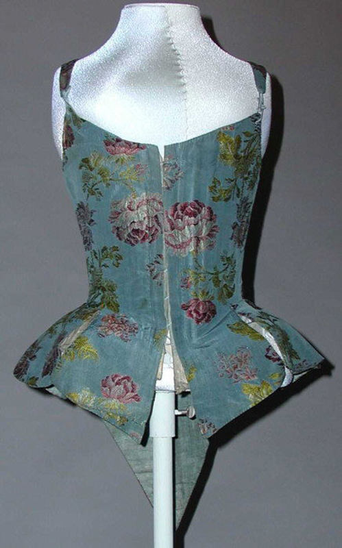 Bodice 18th c European wrk 403 MET