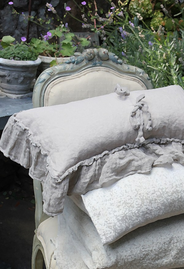 Antique French Linen Bedding