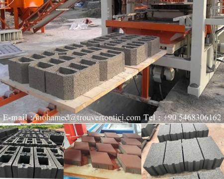 usine machine brique pave bordure turquie