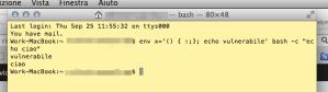 ShellShock, il bug della shell BASH che apre una falla su Linux e Mac