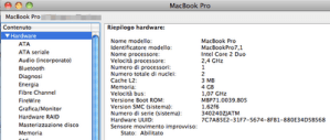 Macbook Pro 2010: prime impressioni