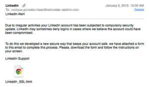 """<span class=""""entry-title-primary"""">Nuovo caso di phishing, utenti Linkedin a rischio</span> <span class=""""entry-subtitle"""">Un tipo di email ingannevole inviata a molti utenti sarebbe anche in grado di aggirare i filtri antispam</span>"""