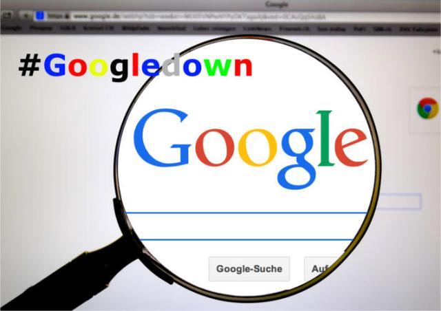 #GoogleDown Vari servizi di Google non sembrano funzionare (News)