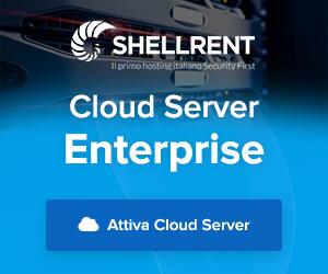 Dettagli offerta: Cloud Server Enterprise Shellrent