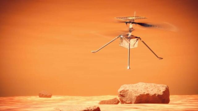 Marte: Ingenuity ha volato, e altre notizie dal Pianeta Rosso (News, Pensare)