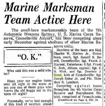 Marine Marksmen.Article.17Jan1955.p1