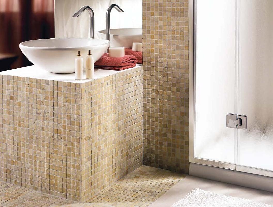 Bagno Beige E Marrone : Bagno beige chiaro il rivestimento bagno tra piastrelle e gres