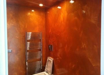 Pareti Colore Arancione : Rivestimenti bagno colore arancione bagni arancioni bagni