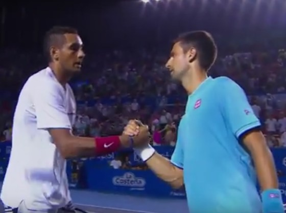 Nick Kyrgios Upset Novak Djokovic 7-6 7-5