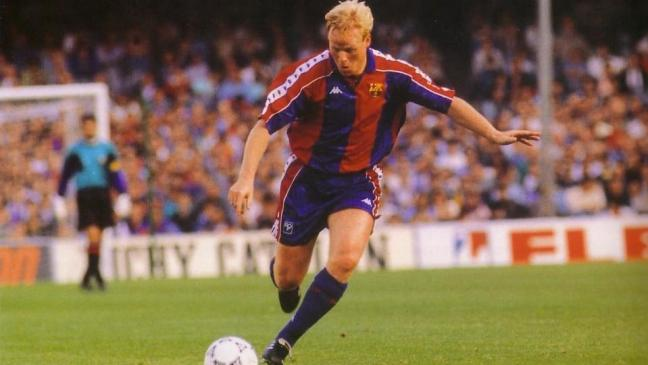 FC Barcelona Greatest XI - Ronald Koeman