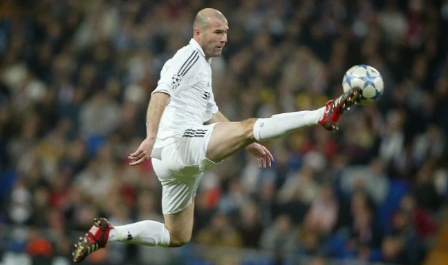 Real Madrid AllTime Greatest XI - Zinedine Zidane