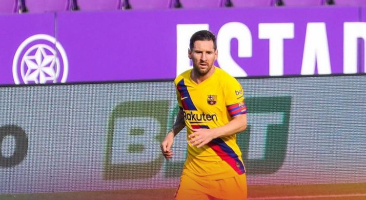 Lionel Messi equals record for most assists in a La Liga season
