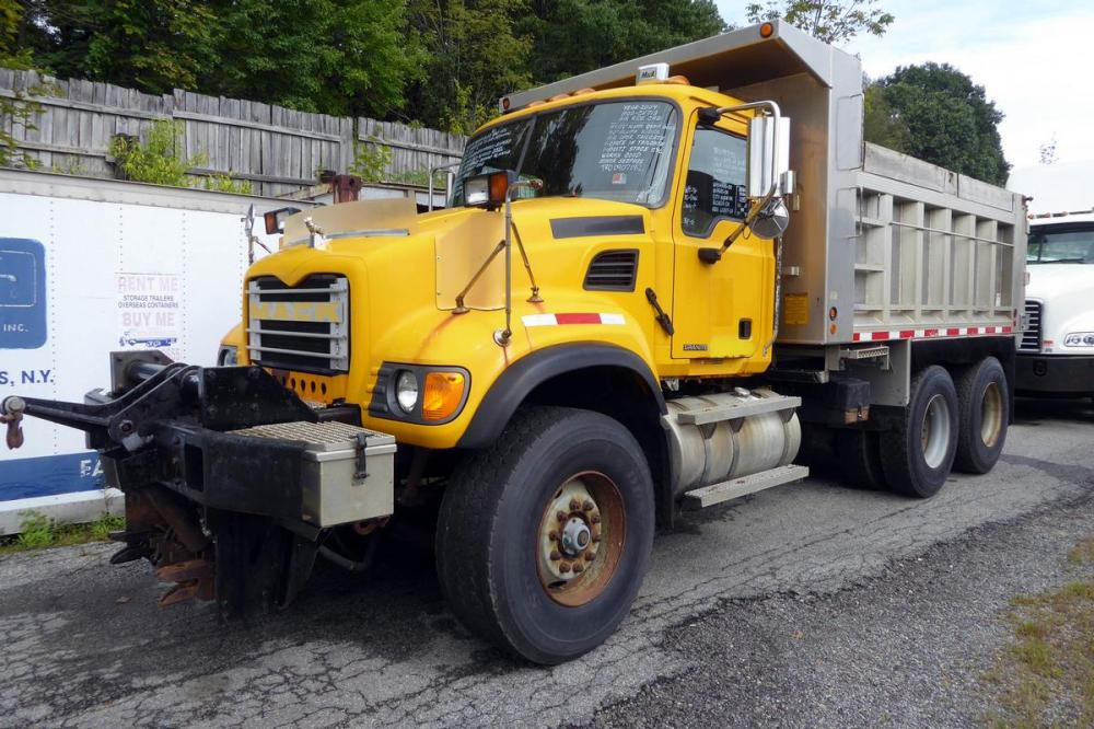 medium resolution of model cv713 type tandem axle aluminum dump truck motor mack ai elec 350 hp engine brake jake air to air yes air conditioning yes transmission fuller