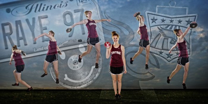 track collage