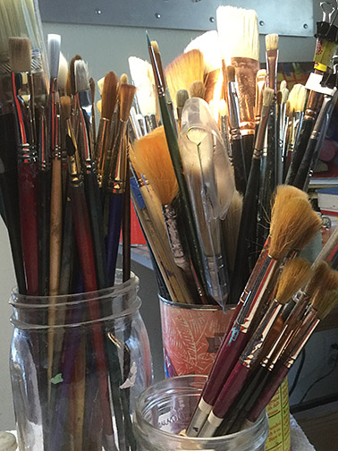 Brushes Photo