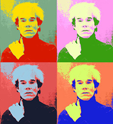 Warhol Self Portrait Image