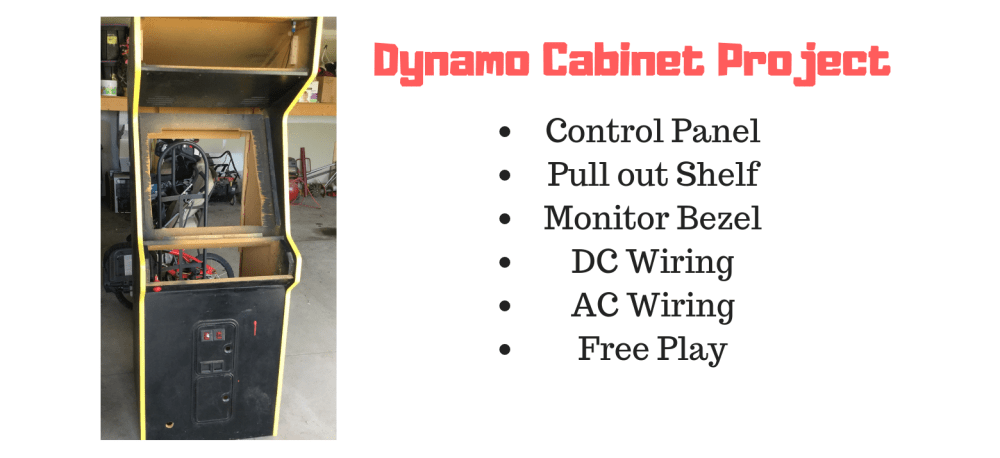 medium resolution of building and wiring an arcade from an empty dynamo cabinet