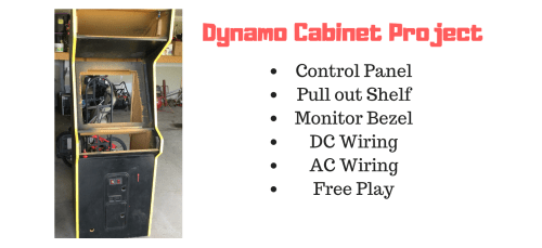 small resolution of building and wiring an arcade from an empty dynamo cabinet
