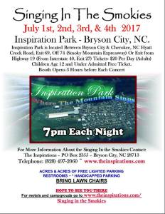 """Troy Burns Family in Concert @ """"Singing' in The Smokies"""" @ Inspiration Park"""
