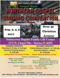 TBF at The Northern Gospel Singing Convention @ Sunnycrest Baptist Family Life Center