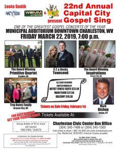 Charleston, WV - Capital City Gospel Sing @ Municipal Auditorium | Charleston | West Virginia | United States