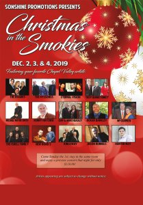 Christmas In The Smokies – Pigeon Forge, TN @ MainStay Suites Conference Center