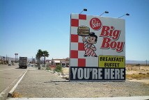 Big Boy signage, Bakersfield U.S.A.
