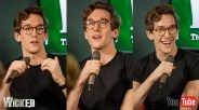 Oliver Savile appearing at the Wicked UK forum panel on Tuesday Sept 13 for YouTube Space London