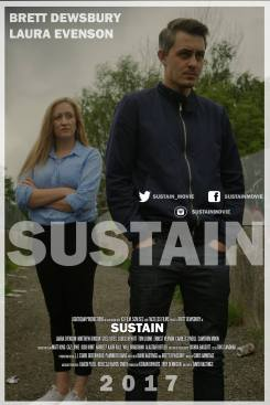 Brett Dewsbury and Laura Evenson in 'Sustain'.