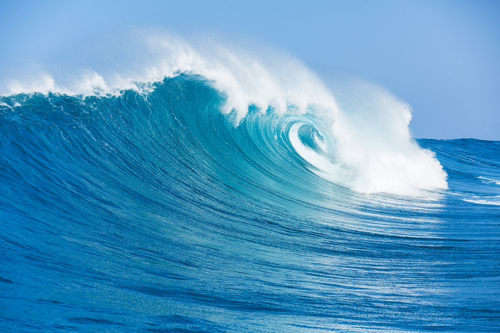 Trying to stop thinking is like telling the ocean to stop making waves