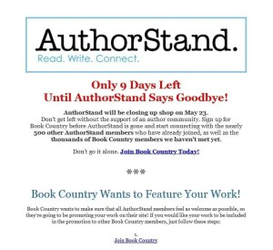 Authorstand