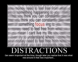 conquer-distraction