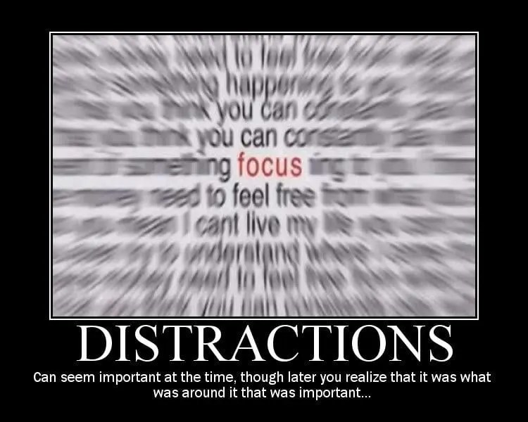 The Dirge of Distraction