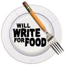 write for food