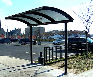 Cantilever Bus Shelter Installation, Design & Sales Nationwide