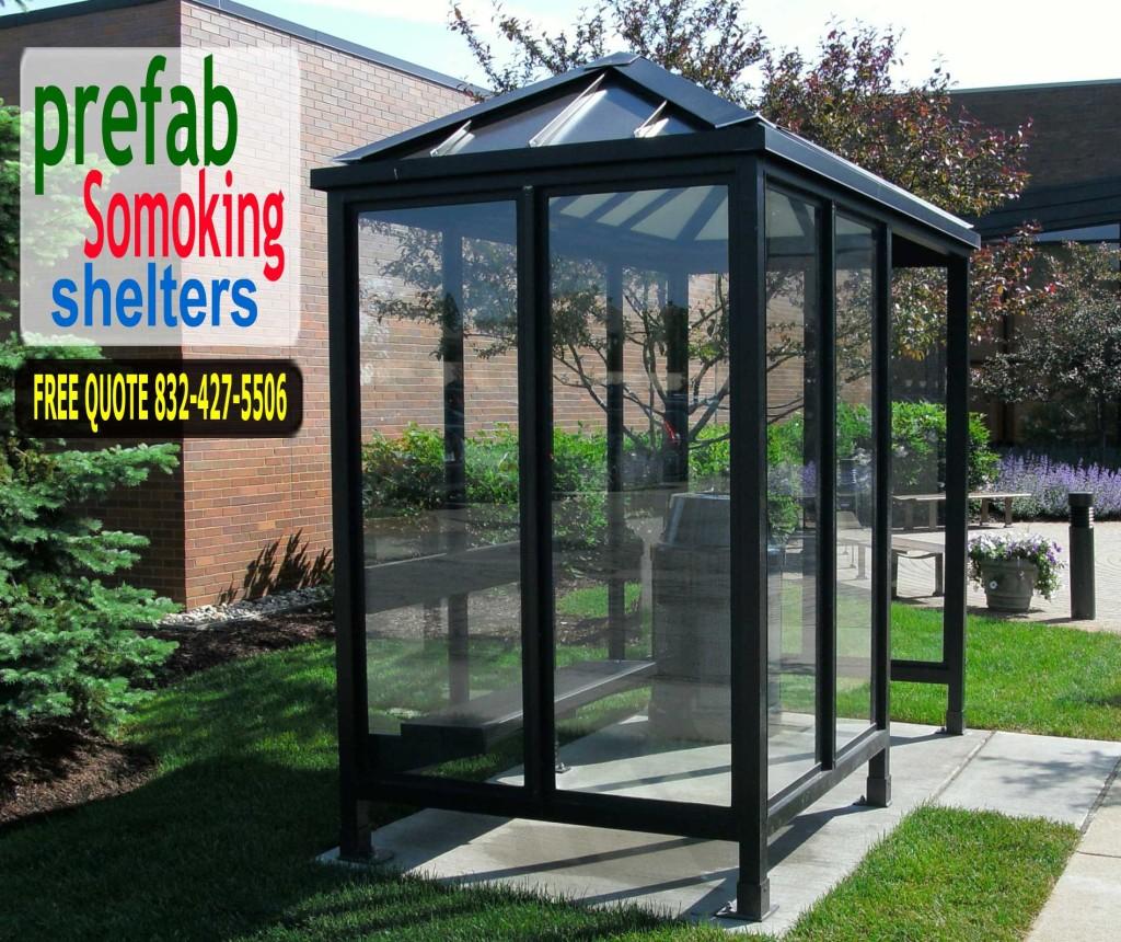 PreBuilt Smoking Shelter Installation, Design, Sales & Accessories