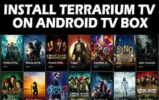 Install Terrarium TV On Android Box