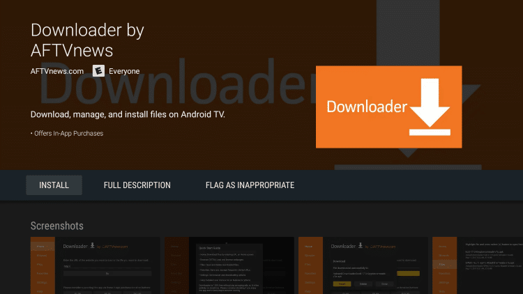how to install downloader