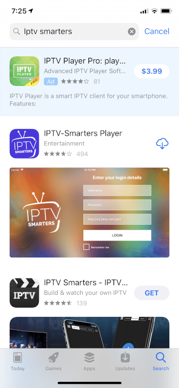 install iptv smarters